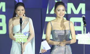 Lý Nhã Kỳ, Minh Hằng rạng rỡ lên trao giải 'Ngôi sao của năm'