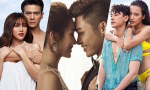 Ba đôi tình nhân 'nóng' nhất màn ảnh Việt 2018