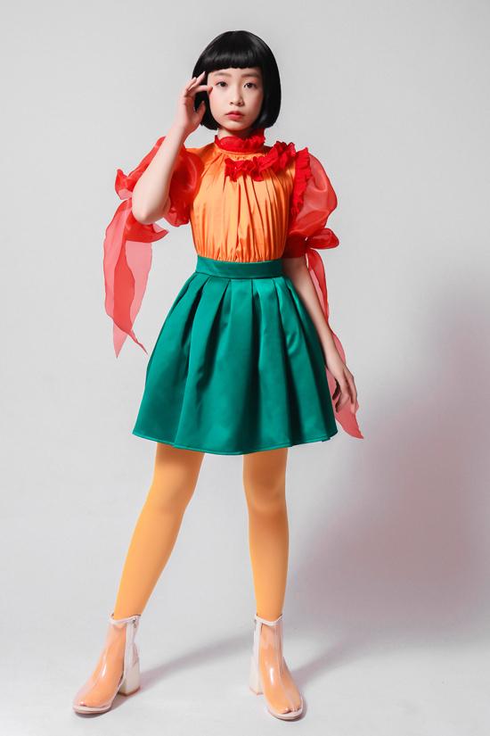 Xuất hiện trong bộ ảnh quảng bá choAsian Kids Fashion Show 2019 là những mẫu nhí sáng giá của câu lạc bộ Pinkids với trang phục của nhà thiết kế Thanh Huỳnh.
