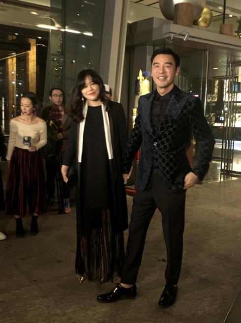 Vợ chồng Chung Trấn Đào.