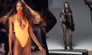 48 tuổi, Naomi Campbell tự tin chụp ảnh bán nude nhờ chăm tập luyện