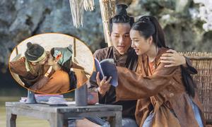 Nhã Phương hôn hot boy kém tuổi trong phim hài Tết