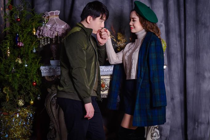 Bạn trai tin đồn hôn tay ca sĩ Ngọc Anh - 5
