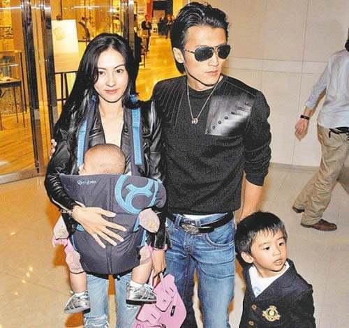 Vợ chồng Phong - Chi khi còn chung sống.