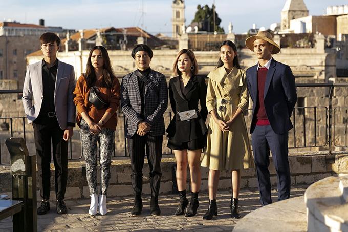 Tập 12 của chương trình The Face là cuộc chính của 6 thí sinh xuất sắc nhất. Họ phải cùng nhau vượt qua nhiều thử thách để giành chiếc vé bước vào vòng chung kết.
