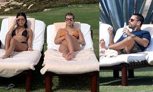 Kourtney Kardashian đi nghỉ cùng bồ mới của tình cũ
