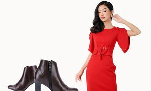 Những chiếc váy đỏ tôn nét quyến rũ cho chị em