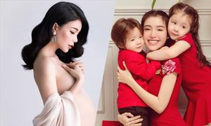 Những mỹ nhân Việt giấu tiệt chuyện bầu bí cho đến khi có con