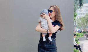 Giang Hồng Ngọc bất ngờ công khai con trai 1 tháng tuổi