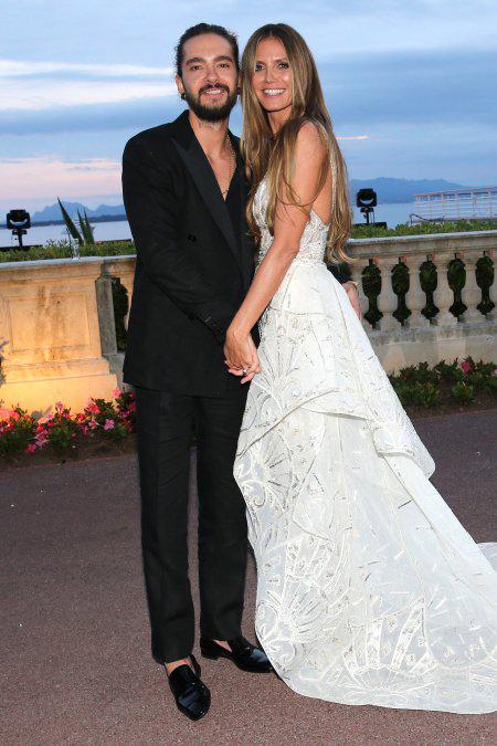 Heidi và chàng người tình Tom Kaulitz.