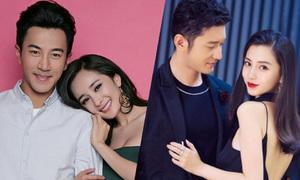 Những cặp vợ chồng kém bền của showbiz Hoa ngữ
