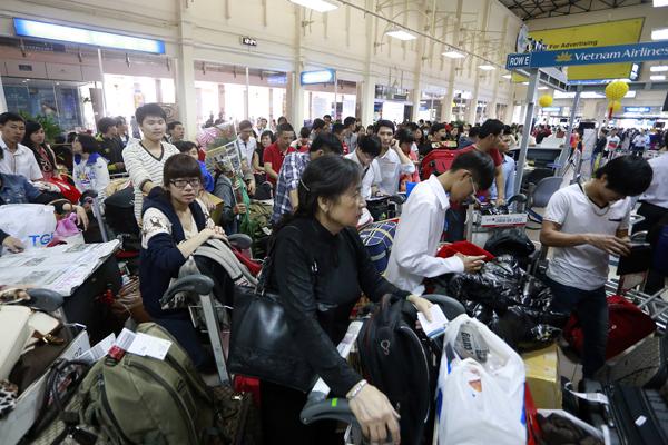 Sân bay dịp Tết
