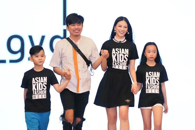 Cùng với các chân dài nổi tiếng như Minh Tú, Lan Khuê, Hoàng Thùy, Thanh Hằng... Phương Khánh hứa hẹn mang đến màn trình diễn cuốn hút tại show diễn thời trang thiếu nhi.