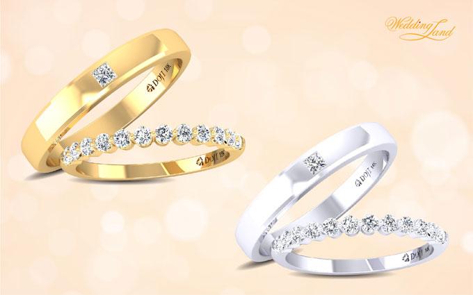 Nhẫn cưới từ xưa vẫn được coi là vật chứng của tình yêu, là món đồ sẽ đi với bạn tới cùng trời cuối đất, thay vì chọn nhẫn cưới truyền thống có phần đơn điệu, hãy chọn cặp nhẫn thời trang sở hữu những đường nét đặc biệt để thể hiện cá tính của riêng bạn.