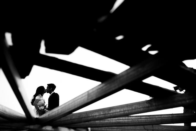 Cặp 9X rủ nhau chụp hình cưới ở Viện sinh học Đà Lạt