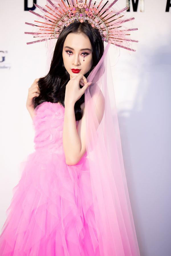Angela Phương Trinh mất 7 tiếng trang điểm để dự show Đỗ Mạnh Cường - 7