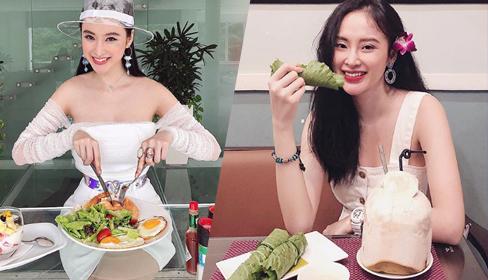 Angela Phương Trinh mê ăn chay để giữ dáng, dưỡng da