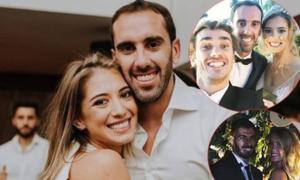 Sao dự đám cưới thủ quân Atletico Madrid