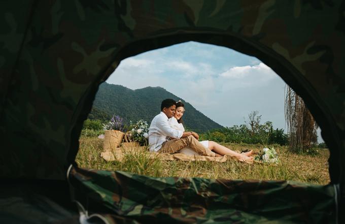 MC Lê Thùy Linh bật mí ảnh cưới bên chú rể ngoại quốc