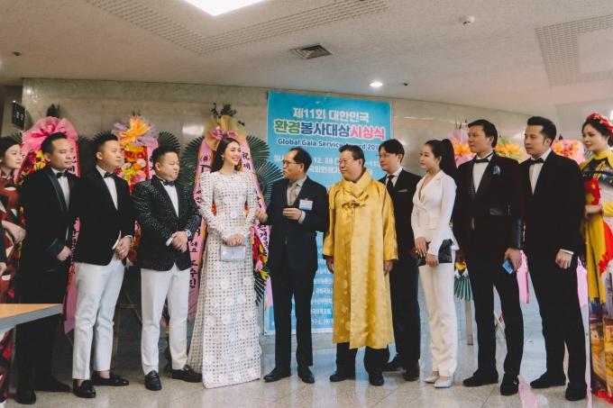Hoa hậu Tường Linh nhận giải Nghệ sĩ vì cộng đồng ở Hàn Quốc - 3
