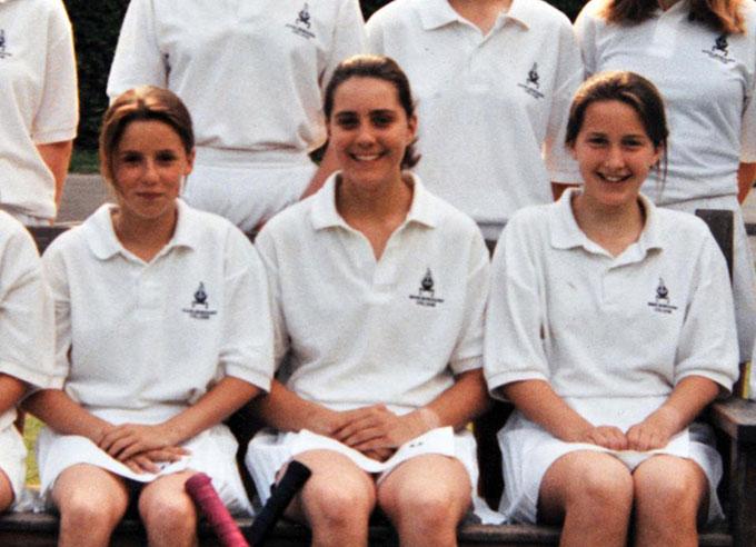 Kate là một tài năng khúc khôn cầu và chạy việt dãkhi còn trong trường học. Ảnh: UK Press.