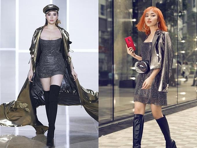 Sao đụng váy tháng 12: Đặng Thu Thảo đẹp mong manh không kém đàn em Tiểu Vy - 1
