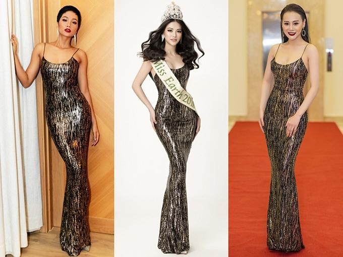 Sao đụng váy tháng 12: Đặng Thu Thảo đẹp mong manh không kém đàn em Tiểu Vy - 4