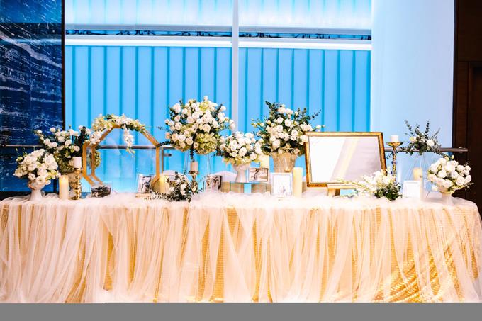 My Lê The Face chọn phong cách tối giản cho đám cưới bí mật