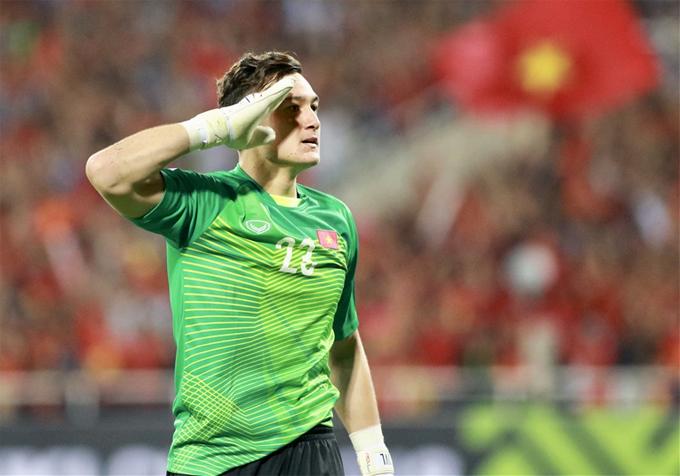 Báo châu Á chọn Đặng Văn Lâm vào top thủ môn ở Asian Cup