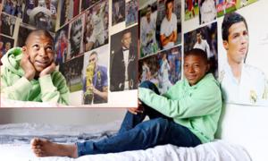 Mbappe 'thay' loạt ảnh C. Ronaldo bằng ảnh bản thân