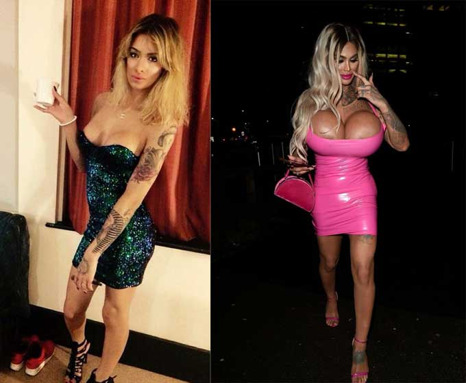 Nicki tin rằng mình là người có vòng ngực to nhất nước Anh.