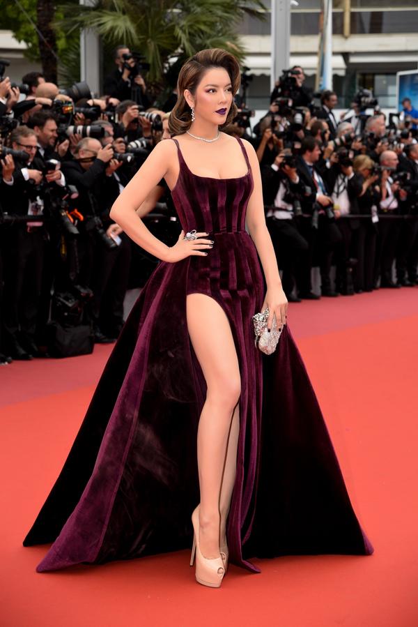 Lý Nhã Kỳ tạo nên dấu ấn đẹp cho năm 2018 với hình ảnh lộng lẫy của chị tại Liên hoan phim Cannes 2018 ởPháp.