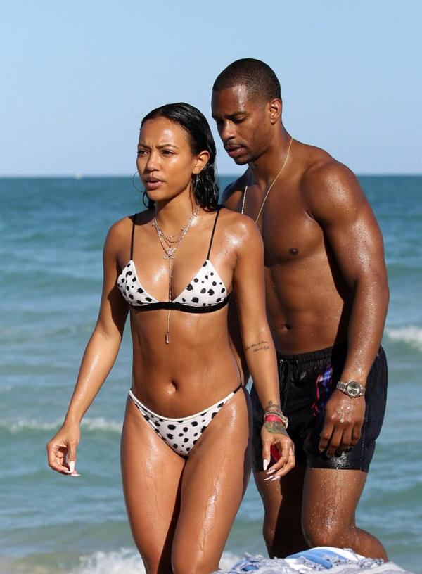 Cặp sao được truyền thông Mỹ khen ngợi rất đẹp đôi.