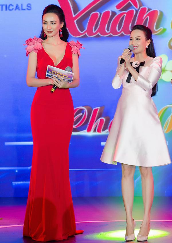 Hoa hậu Du lịch 2008 rất vui khi được gặp gỡ cả chị Tư Cẩm Ly. Song ca Đan Trường - Cẩm Ly từng được nhiều khán giả thế hệ 8X yêu mến. Ngọc Diễm cũng là một fan của hai ca sĩ này.