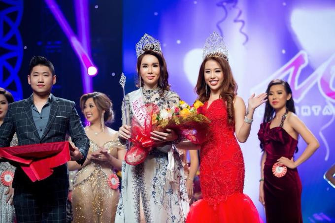 Người đẹp Lã Kỳ Anh vừa đăng quang tại cuộc thi Miss Viet Nam Continents 2018 (Hoa hậu Thế giới người Việt) tại Mỹ.