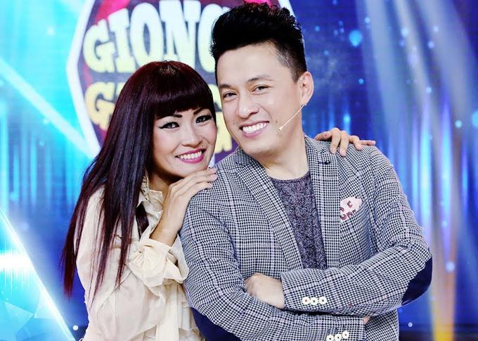 Ca sĩ Lam Trường và Phương Thanh.