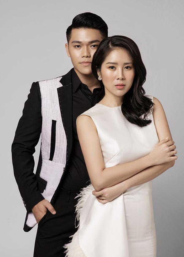 Vợ chồng Lê Phương - Trung Kiên.
