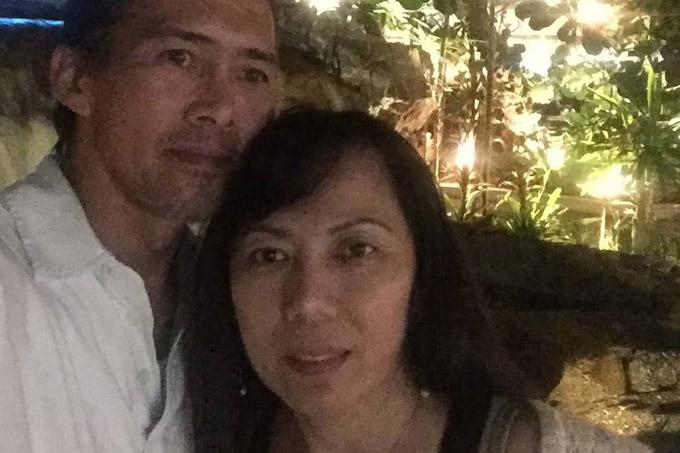 bà Nguyen và chồng, ông Sonny Chung. Ảnh: Facebook.