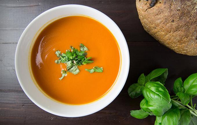 Súp đậu lăng cà rốt