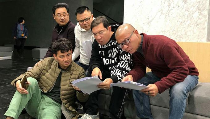 Các nghệ sĩ hài bắt đầu tập chương trình Táo Quân - 2