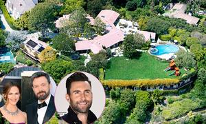Adam Levine chi 32 triệu USD mua lại biệt thự của Ben Affleck