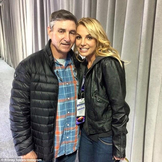 Britney và bố.