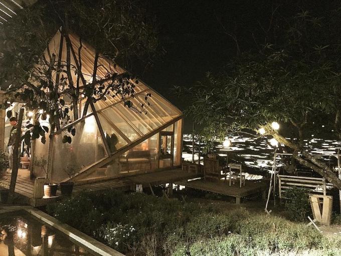 Những quán cà phê ngắm Đà Lạt về đêm