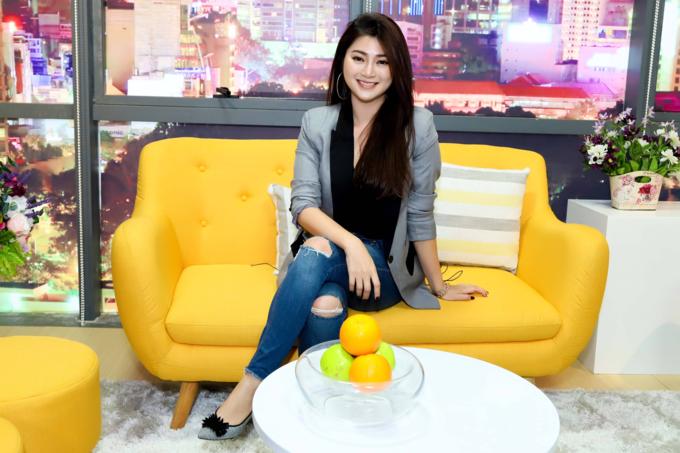 Diễn viên Thanh Trúc tham gia chương trình Thanh Xuân Gia Đình sẽ phát sóng trên VTV9 lúc 20h25, ngày Chủ nhật (6/1).