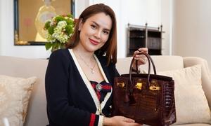 Khám phá túi Hermes tiền tỷ của Hoa hậu Phương Lê
