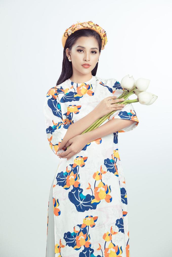 Tiểu Vy gợi ý những mẫu áo dài cách tân cho năm mới - 4