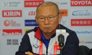HLV Park Hang-seo: 'Thể lực tuyển Việt Nam đáng lo'