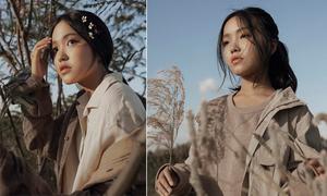 Trang phục vintage mùa đông cho bé gái