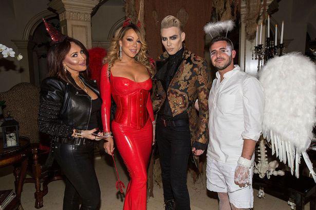 Stella (bên trái) nói rằng cô đã giúp Mariah kiếm được hàng trăm triệu USD trong ba năm làm việc cùng.