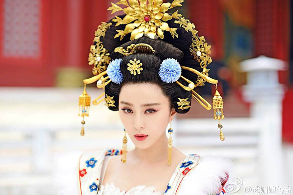 Tạo hình đẹp mê hồn của Phạm Băng Băng trong Võ Mị Nương truyền kỳ.